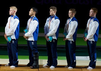 Team Scotland gymnasts