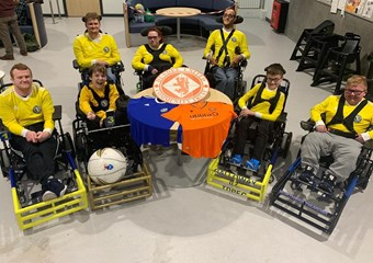 Tayside Dynamos Powerchair Football new sessions