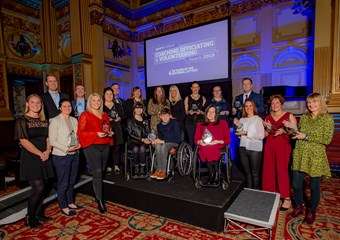 Winners at the 2019 Coaching, Officiating and Volunteering Awards