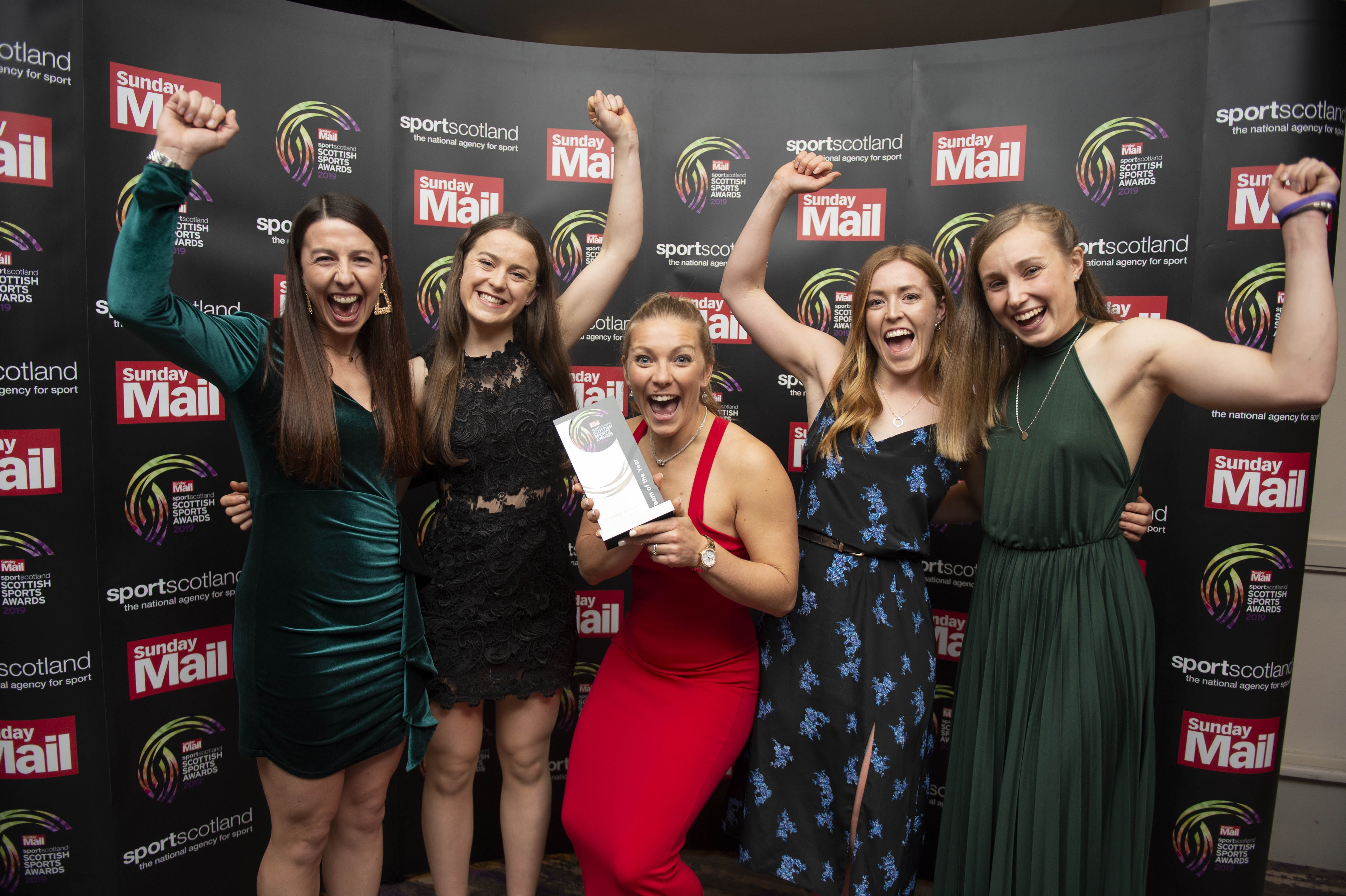 Scotland women's hockey team won Team of the Year at the 2019 Scottish Sports Awards