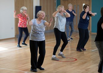 St Madoes Active Sport Hub zumba class
