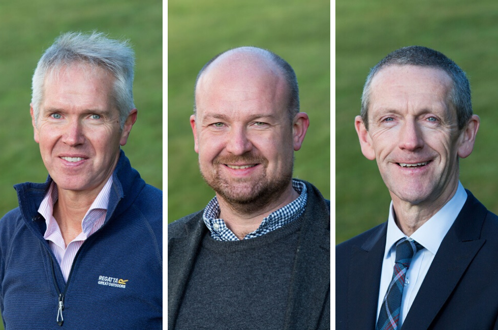 New sportscotland Trust Company Board members photographed in November 2019