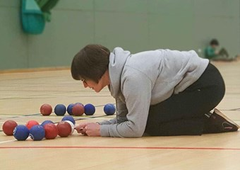 Boccia judge makes a decision