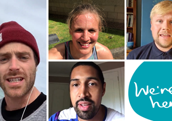 #WeAreHere with Luke Patience, Becky Mill, Stefan Hoggan and Kieron Achara