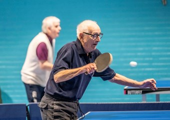 Over 50s session at Drumchapel TTC