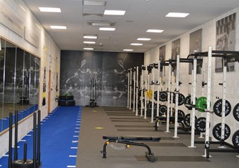 Inverness Leisure gym following re-opening in December 2020