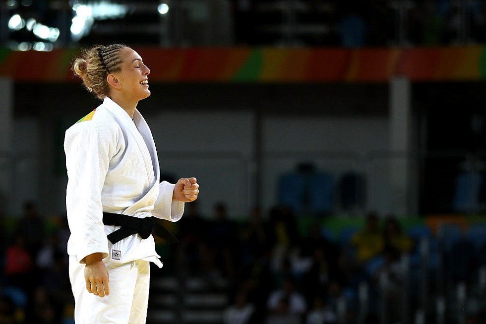 Sally Conway, who has retired from judo after a glittering career